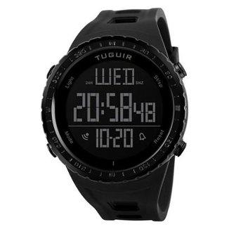 2baadcd15bb Relógio Masculino Tuguir Digital TG1246