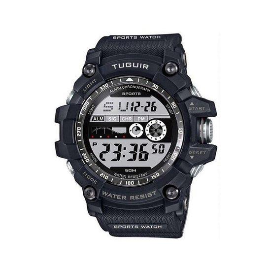 fa357cb4c91 Relógio Tuguir Digital TG6009 - Preto - Compre Agora