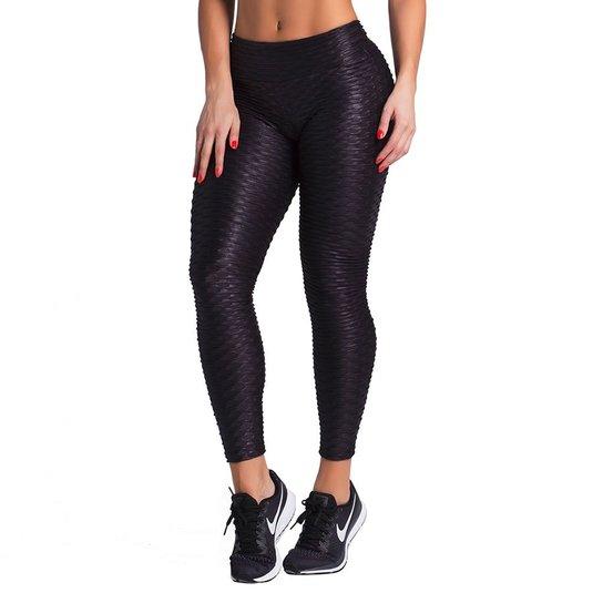 Calça Legging Duopen Bolha Cirrê Feminina - Compre Agora  6e1e6a63585