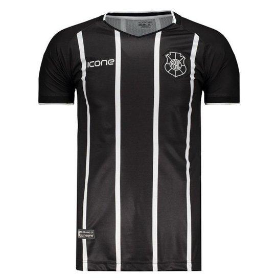 Camisa Ícone Sports Rio Branco I 2018 Masculina - Preto - Compre ... 85a16cb6dd98a