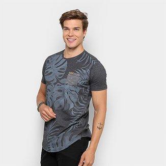 b92ad559436a0 Camiseta Gangster Estampada Masculina