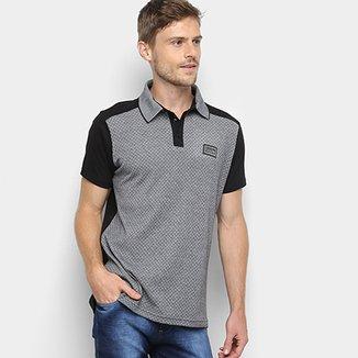 Camisa Polo Fatal Mini Print Masculina 89cd628a85d