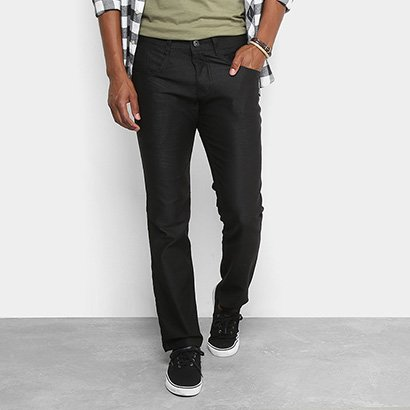 Calça Slim Fit Biotipo Sarja Color Masculina