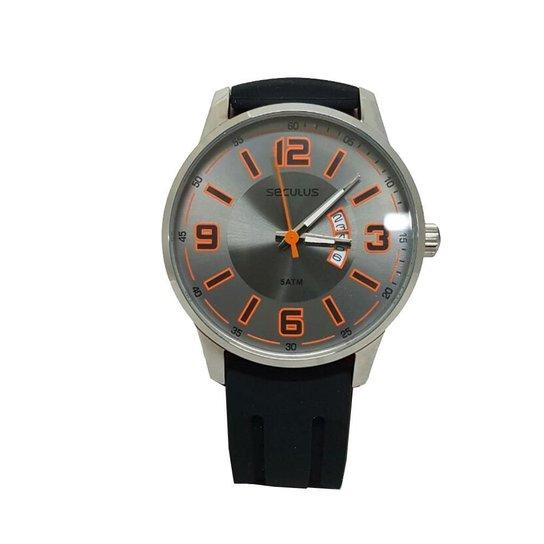 5e7f70e0d Kit Relógio Masculino Seculus + Kit De Chaves - Preto - Compre Agora ...