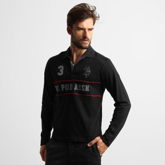 faf6633171 Camisa Polo U.S. Polo Assn Patch M L - Compre Agora