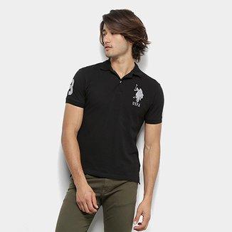 1d6ea35238 Camisa Polo U.S. Polo Assn Lisa Uspa Masculina