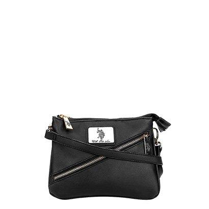 Bolsa U.S. Polo Assn Mini Bag Zíper Diagonal Feminina