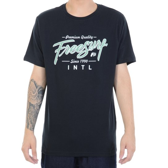 49ccdba896 Camiseta FreeSurf Pipeline - Preto