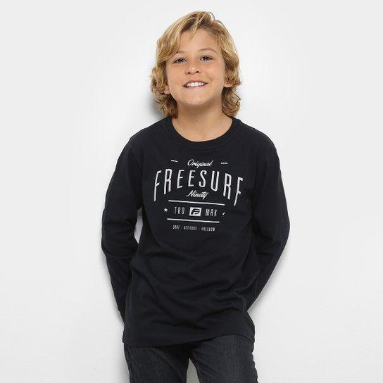 eed147c26c Camiseta Infantil Freesurf Manga Longa Masculina - Compre Agora ...