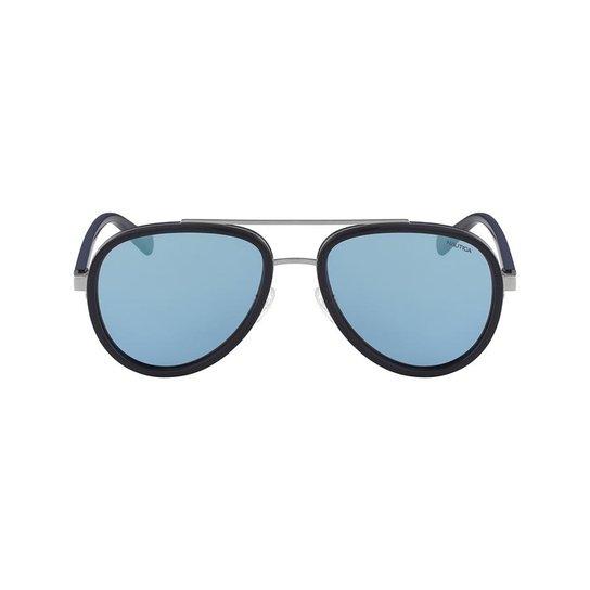 ccdc2d41a2506 Óculos de Sol Nautica N4627SP 410 57 - Preto - Compre Agora