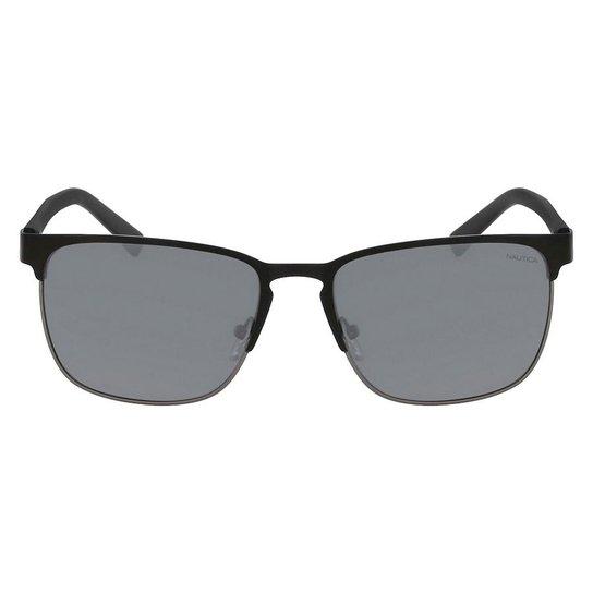 746b5c26bcf71 Óculos de Sol Nautica N4621SP 005 56 - Preto - Compre Agora
