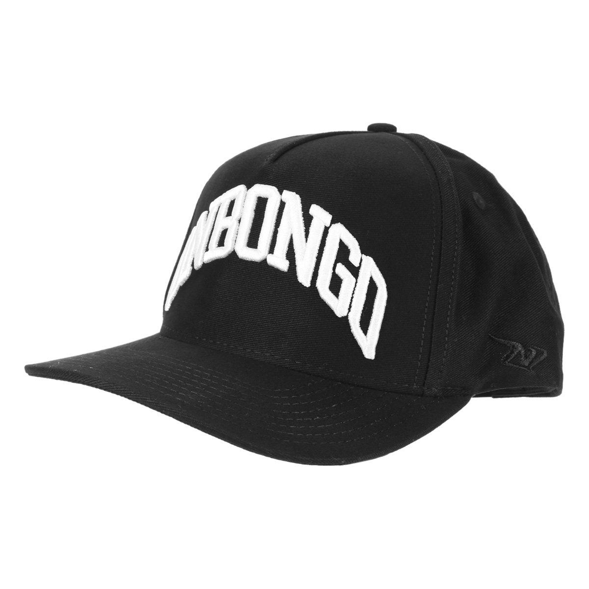 Boné Onbongo Aba Curva Snapback Logo 3D