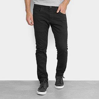 Calça Skinny Zune Sarja Black Detalhe Amassado Masculina a432401c36f