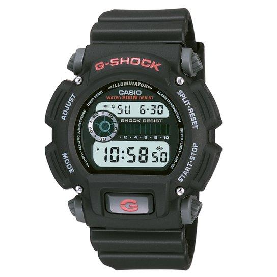 027cbe15d45 Relógio Casio G-Shock Digital DW-9052 - Preto - Compre Agora