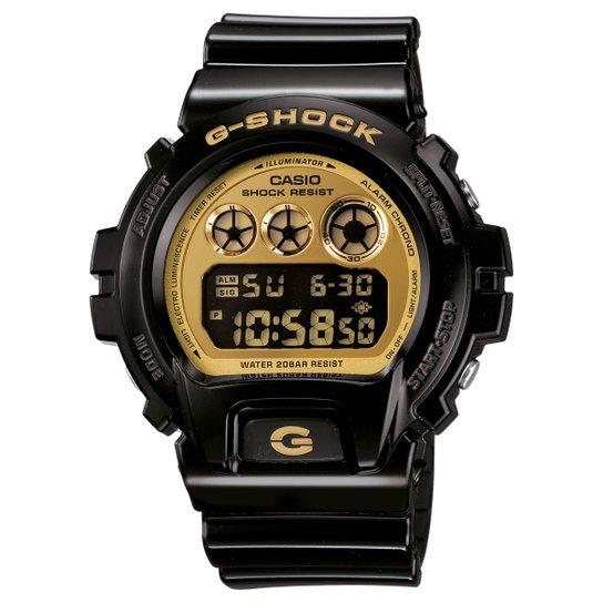 1abb5330c83 Relógio G-Shock DW-6900 - Preto e Dourado - Compre Agora