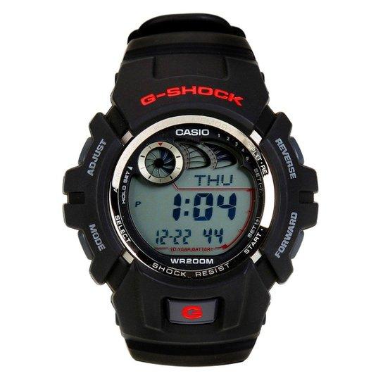 c6392fa95ce Relógio G-Shock G-2900F - Preto e Vermelho - Compre Agora