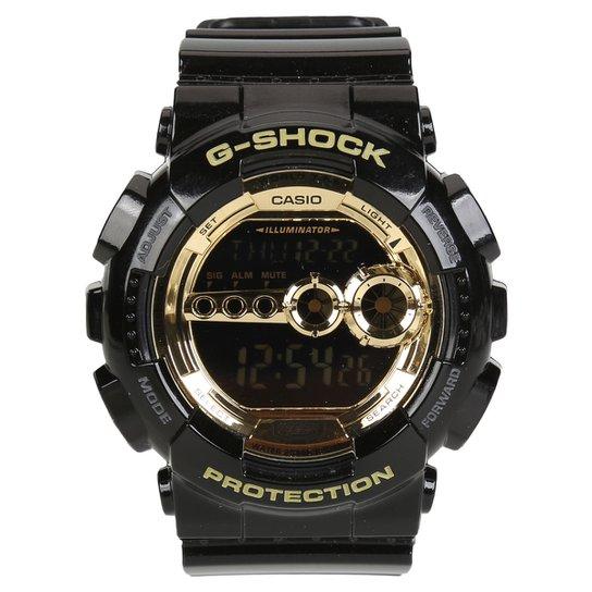 219c73fd049 Relógio G-Shock GD-100GB - Preto - Compre Agora