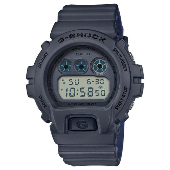 6d838c2af2c3 Relógio Digital G-Shock DW-6900LU-8DR Masculino - Preto