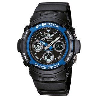 79772f1cbef Relógio Analógico Digital G-Shock AW-591-2ADR Masculino