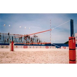 0fc990782 Rede Prof. Volei de Praia com 3 Faixas (Nylon)