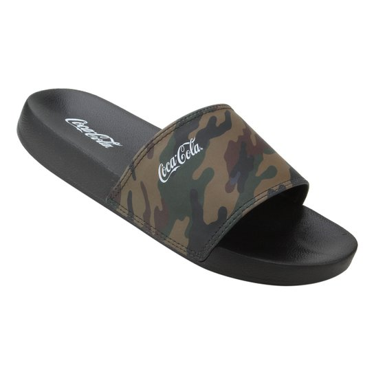 843afc458 Chinelo Coca Cola Slide Desert | Netshoes