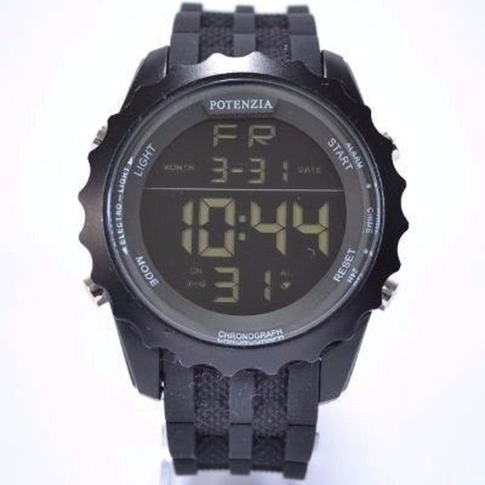 2f4fe2264dc Relógio Potenzia Digital Running à Prova dágua Original - Preto ...