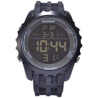 3221068f249 Relógio Potenzia Digital Running Esportivo À prova Dàgua