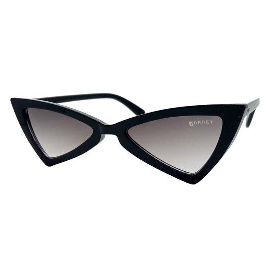 9cad2e6b3abd7 Óculos De Sol Fashion Retro Gatinho Garnet - Preto - Compre Agora ...