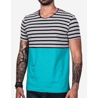 Camiseta Hermoso Compadre Listrado Masculina 353bb9a3402e7