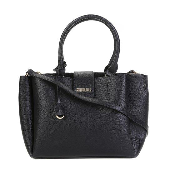 Bolsa Santa Lolla Tote Risco Feminina - Preto - Compre Agora  8c1875a2faedf