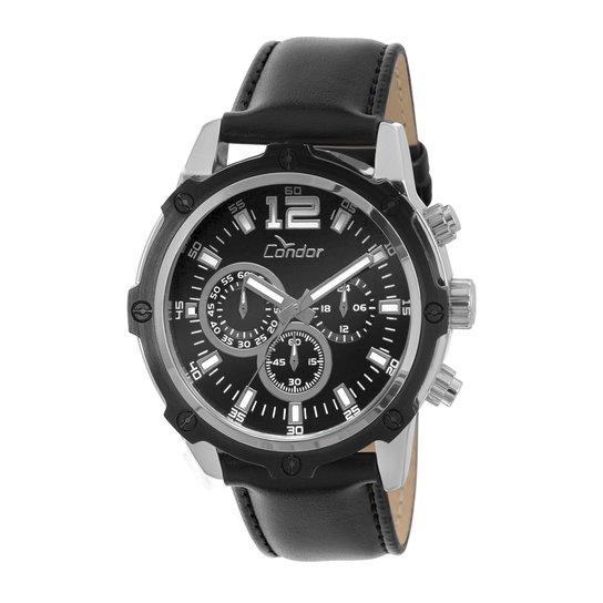 Relógio Condor Masculino Bicolor - Preto - Compre Agora   Netshoes a4c4f7a9a8