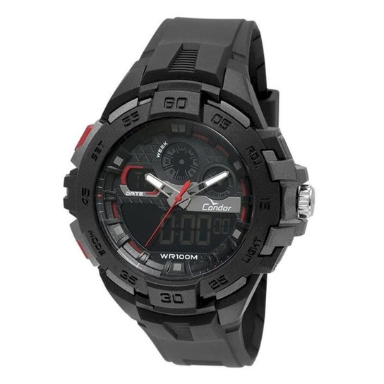 Relógio Condor Masculino Anadigi Co1154Cr 8P - Compre Agora   Netshoes e3ebbb355e