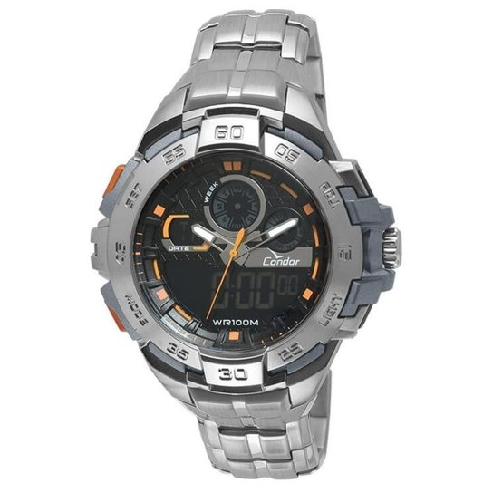 Relógio Condor Masculino Anadigi Co1154Ar 3P - Compre Agora   Netshoes 3178175384