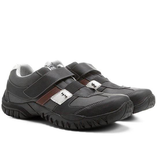 e5fb93eb95 Sapatênis Walkabout Velcro - Preto