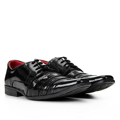 Sapato Social Couro Walkabout Shiny Masculino