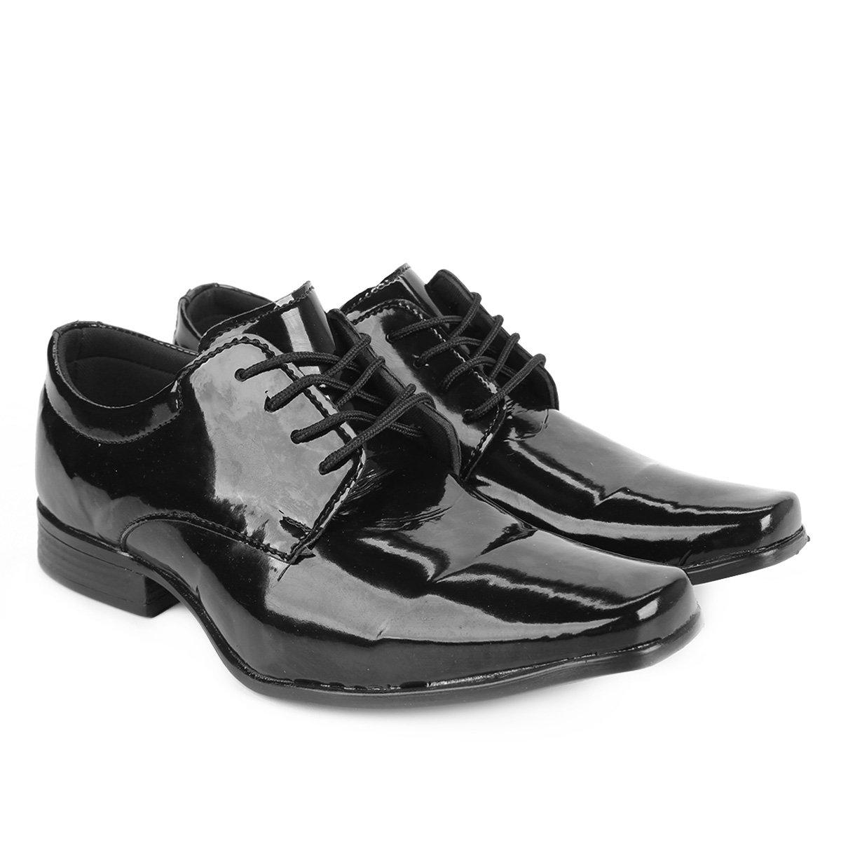 Sapato Social Walkabout Verniz Masculino