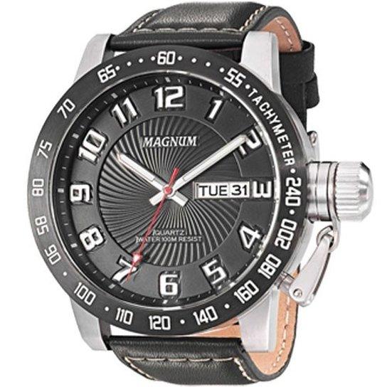106ca55308e Relogio Magnum - Ma33139T - Preto - Compre Agora