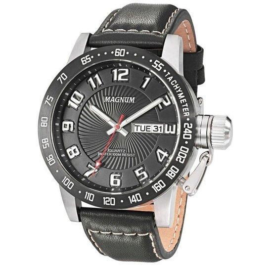 6cf2023cbef Relógio Magnum Masculino Ma33139T - Preto - Compre Agora
