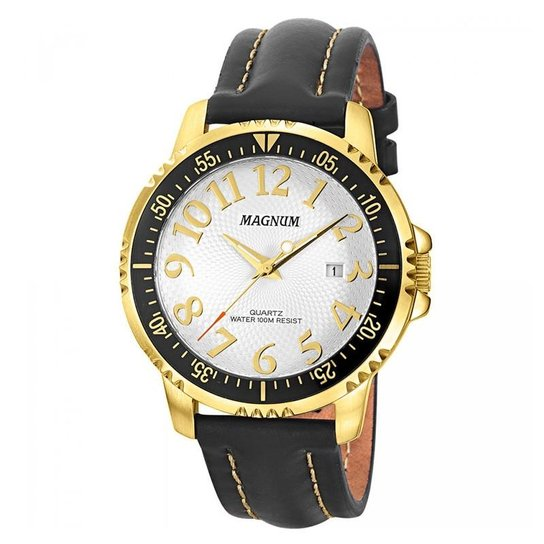 7e6330940d2 Relógio Magnum Masculino - MA32916B - Preto - Compre Agora