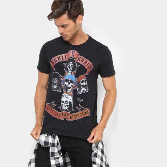 Camiseta Tigs Music Rock Masculina - Compre Agora   Netshoes 7543da8aa2