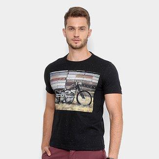 Camiseta Tigs Gola Careca Malha Masculina ab5c4355172e9