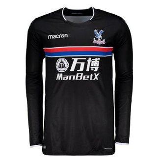 f17deb4808 Camisa Macron Crystal Palace Away 2018 Masculina