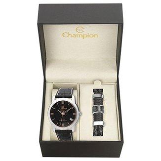 c2ad28ecf Kit Relógio Champion Analógico CA20545C Masculino