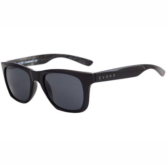 Óculos Evoke Diamond Shine Gray Wood - Preto - Compre Agora   Netshoes c7162af72d