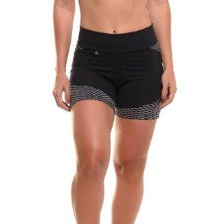 70e0ae770f Short Com Proteção Solar Sandy Fitness Speed Up - Feminino
