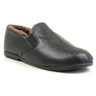 de10f2eef6 Sapato Conforto Forrada em lã natural