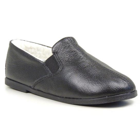 9dd1d833c Sapato Conforto Forrada lã sintética Masculino - Preto | Netshoes