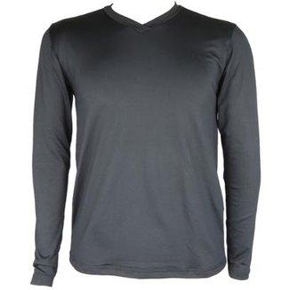 01b772f83b Camisa Térmica Masculina Segunda Pele V Thermo Premium