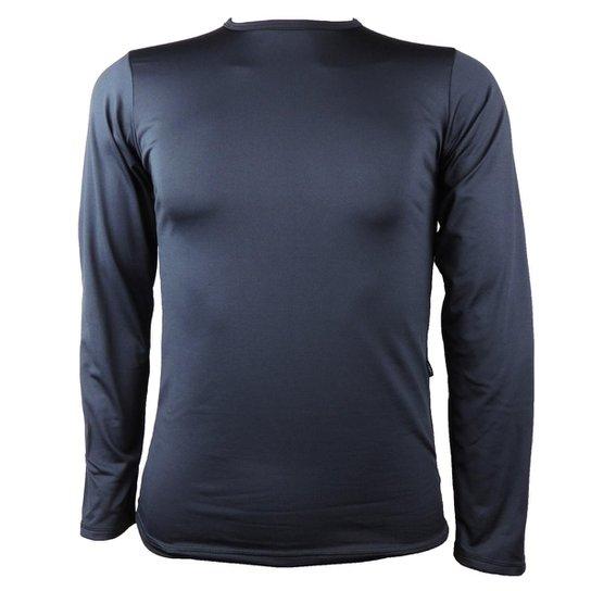Camisa Térmica Masculina Segunda Pele Thermo Premium - Preto ... d0d7c4fc7be7d