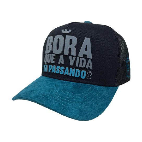 fe6400adb866b Boné Trucker Bora - Compre Agora